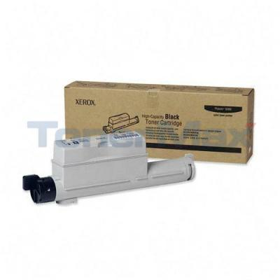 XEROX PHASER 6360 TONER CART BLACK 18K